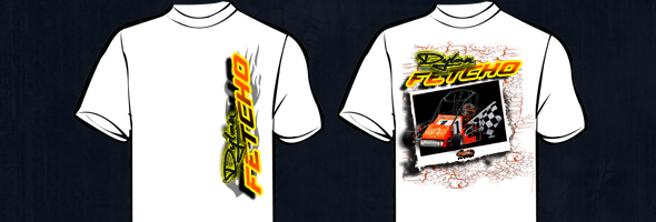 Custom design quarter midget racing tshirt