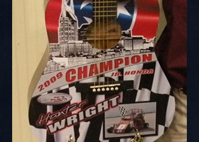 Wrapped Copley Guitar